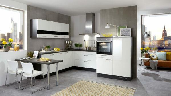 Culineo Küche mit gorenje Einbaugeräten und privileg Dunsthaube